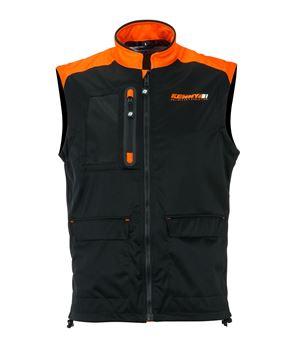 Picture of Bodywarmer + Black Neon Orange