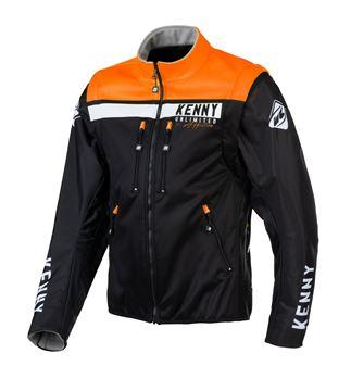 Picture of Enduro Softshell Jacket Black Orange
