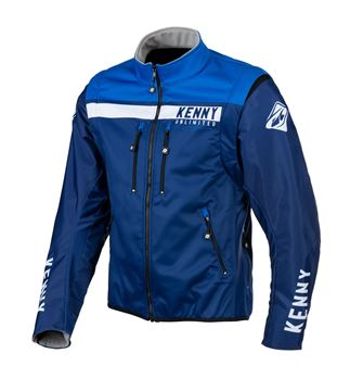 Picture of Enduro Softshell Jacket Blue