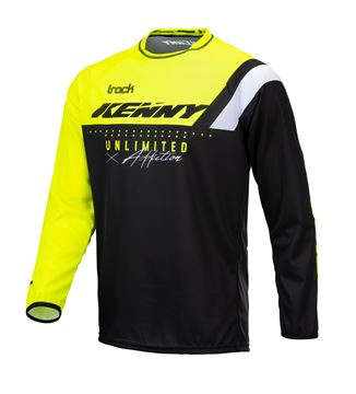 Picture of Focus Track Kid Jersey Neon Yellow