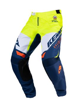 Afbeeldingen van Focus Track Kid Pants Navy Neon Yellow