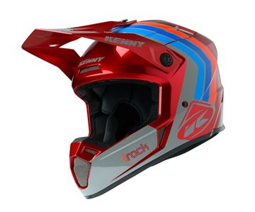 Picture of Graphic Adult Track Helmet Victory Burgundy