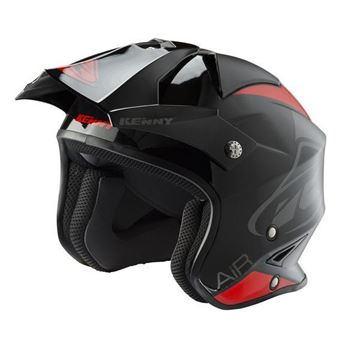 Picture of Graphic Trial Air Helmet Black Red