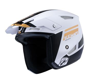 Picture of Graphic Trial Up Helmet Gold