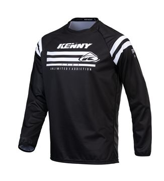 Picture of Raw Track Kid Jersey Black