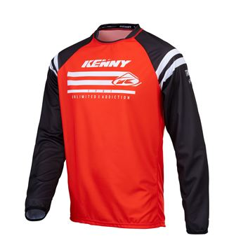 Picture of Raw Track Kid Jersey Red
