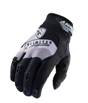 Picture of Safety Gloves Black Grey