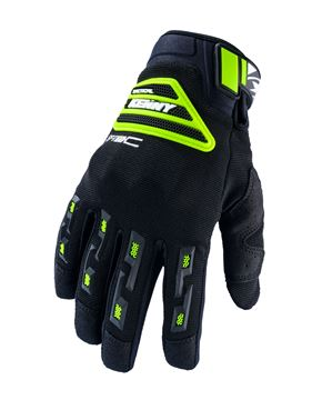 Picture of Sf Tech Gloves Black Neon Yellow
