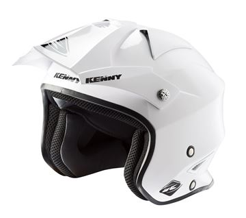 Picture of Solid Trial Air Helmet White