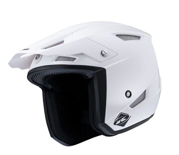 Picture of Solid Trial Up Helmet White