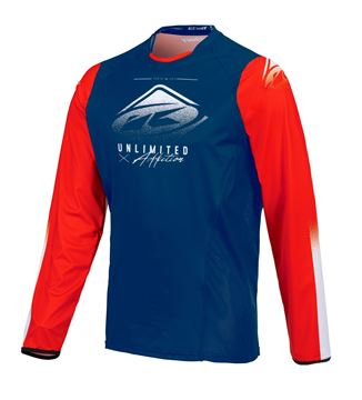 Picture of Titanium Jersey Navy Red