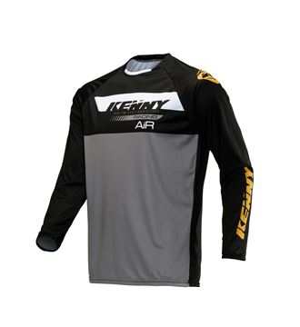 Picture of Trial Air Jersey Black Gold