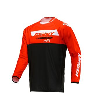 Picture of Trial Air Jersey Red Black