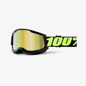 Afbeeldingen van 100% Strata 2 Upsol Crossbril - Spiegel lens