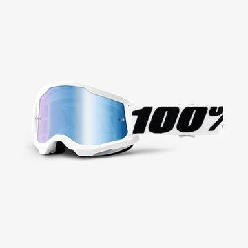 Afbeeldingen van 100% Strata 2 Everest Crossbril - Spiegel lens