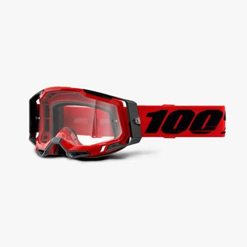 Picture of 100% Racecraft 2 Red Crossbril - Helder