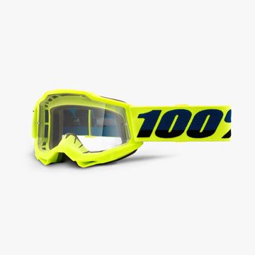 Picture of 100% Accuri 2 Crossbril Youth - Yellow - Heldere lens