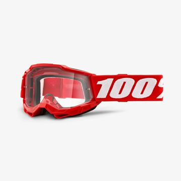 Picture of 100% Accuri 2 Crossbril Youth - Red - Heldere lens