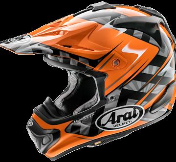 Picture of Arai MX-V Crosshelm - Scoop - Orange