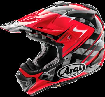 Picture of Arai MX-V Crosshelm - Scoop - Red