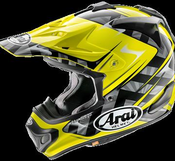 Picture of Arai MX-V Crosshelm - Scoop - Yellow