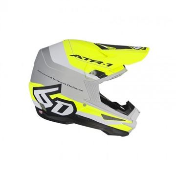 Picture of 6D Crosshelm ART-1 PACE Neon Yellow/Grey/Matte