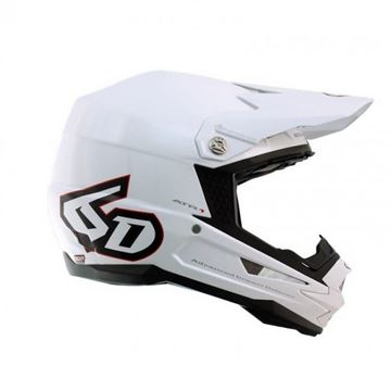Picture of 6D Crosshelm ART-1 SOLID White