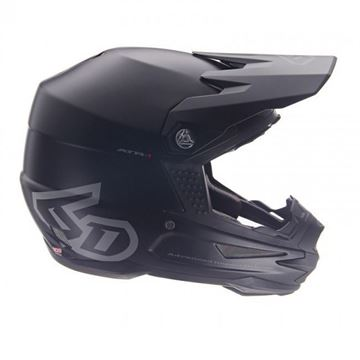 Picture of 6D Crosshelm ART-1 SOLID Black