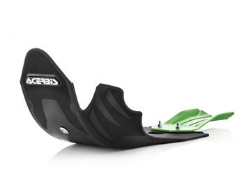 Picture of SKID PLATE KXF 450 19-20 - BLACK/GREEN