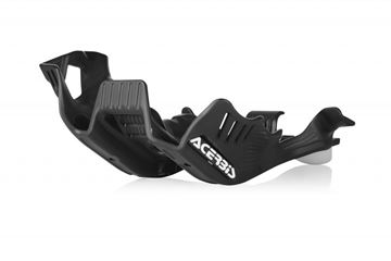 Picture of SKID PLATE HUSKY TE 250/300 2020 - BLACK/WHITE