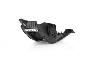 Picture of SKID PLATE HUSKY FE 250/350 2020 - BLACK/WHITE