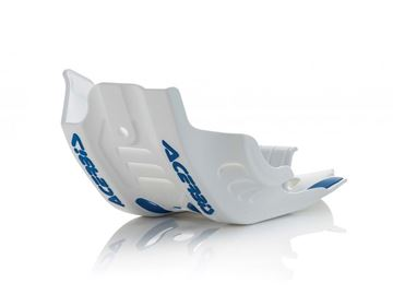 Picture of SKID PLATE FE 450 2020 - WHITE/BLUE