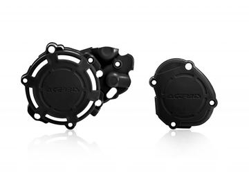 Picture of X-POWER ENGINE PROTECTORS YZ 125 2005-2020 - BLACK