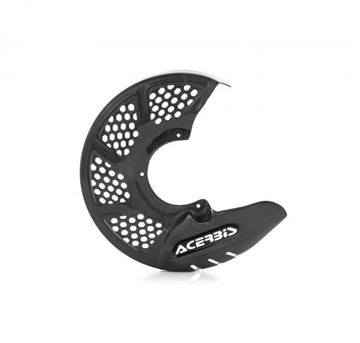 Picture of FRONT DISC COVER X-BRAKE VENTED CARBON - GREY