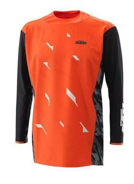 Picture of KTM Racetech cross shirt - Oranje - 2021