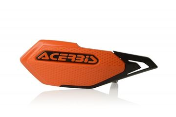 Afbeeldingen van X-ELITE HANDGUARDS E BIKE-MINICROSS - ORANGE/BLACK