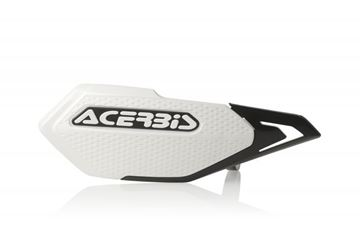 Afbeeldingen van X-ELITE HANDGUARDS E BIKE-MINICROSS - WHITE/BLACK