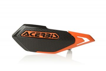 Afbeeldingen van X-ELITE HANDGUARDS E BIKE-MINICROSS – BLACK/ORANGE